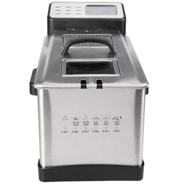 China Hot Sale Ce High Quality Stainless Steel Fully Automatic Small Continuous Food Industrial Deep Belt Fryer