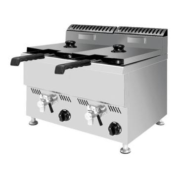 Stainless Steel Kfc Chicken Frying Machine Fish Deep Fryer for Small Business