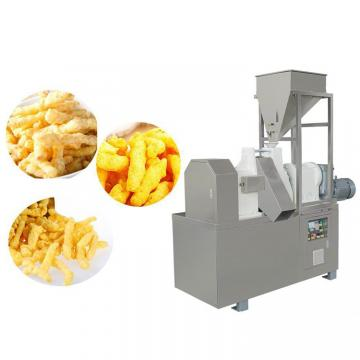 100-200 Kg/H Easy Operation Snack Food Fried Cheetos /Kurkure /Niknak Production Line/Fryer Machine